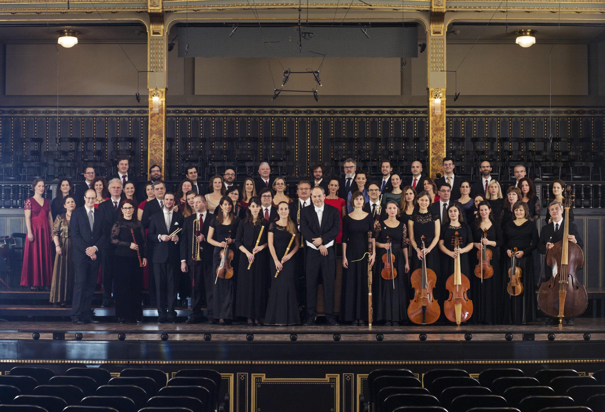 Purcell Kórus és Orfeo Zenekar a Zeneakadémián